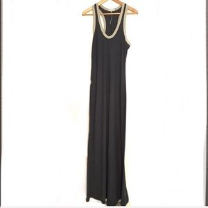 James Perse racerback Maxi dress. Size 3- large C0